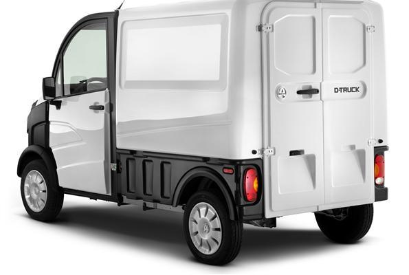 E-Truck Van (Elektroantrieb) oder D-Truck Van (Diesel)